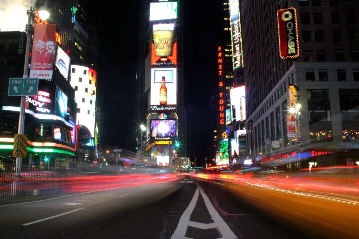 Times Sqare at night