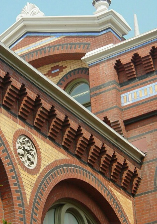 Detail of  Arts and Industries Roofline
