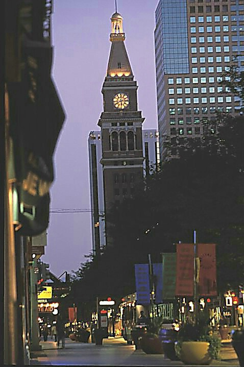 D&F Tower--Lavender  Sunrise  #1973 - ID: 294673 © Shirley  Scott