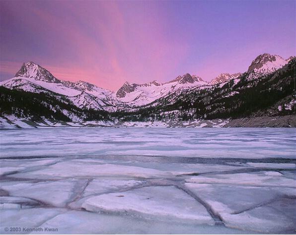 Winter Morning, South Lake