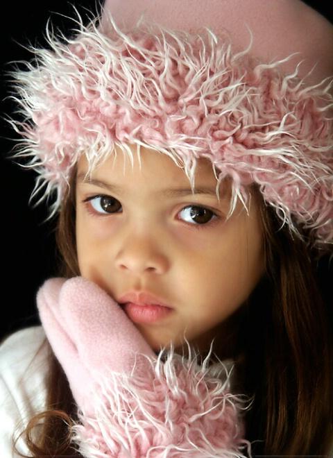 Pink Hat & Mittens