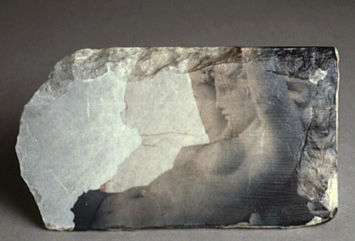 Reclining Nude (on stone)