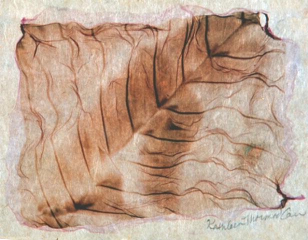 Yin Yang Series #5 (on handmade paper)