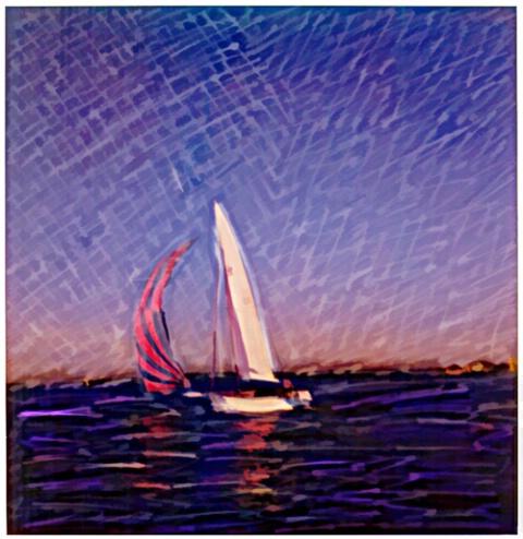 sail at sunrise