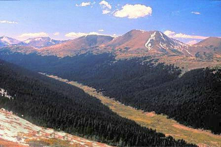 Trail Ridge Road Upward Ho!  #1702 - ID: 317611 © Shirley  Scott
