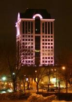 Interesting Building Color.....