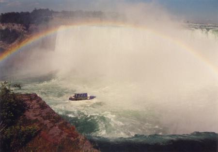 Rainbow Over  Niagra Falls  (Canada)