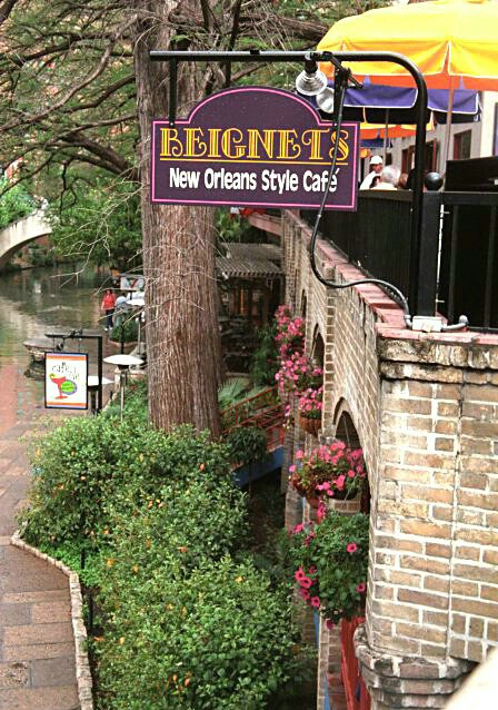 Beinet's Cafe on the River Walk  #1877 - ID: 324729 © Shirley  Scott