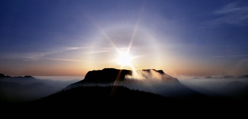 Sunrise over Deer Mountain