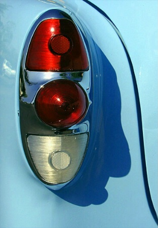 '53 Chevy Tail Light and Shadow