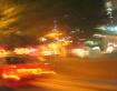 Speeding traffic ...