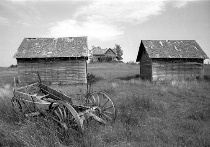 Old farm in ALberta
