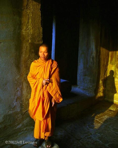 Angkor Monk - ID: 340086 © Jeff Lovinger