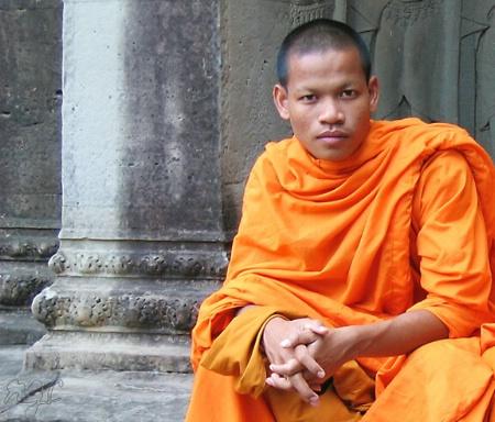The Gaze of a Monk