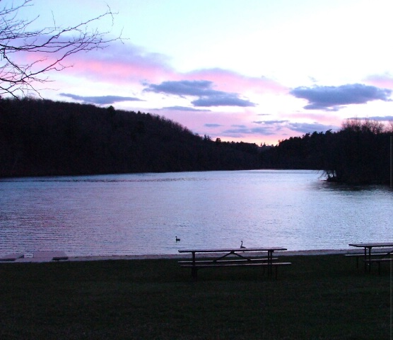 Sunset at Governor Nelson State Park