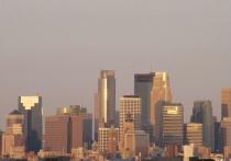 Minneapolis Cityscape at Sunrise