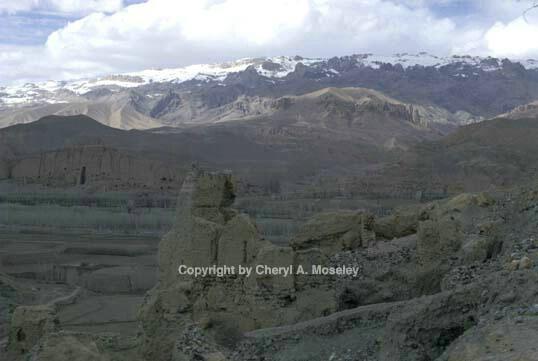 Barnian Valley, Buddha cliffs distant - ID: 355758 © Cheryl  A. Moseley