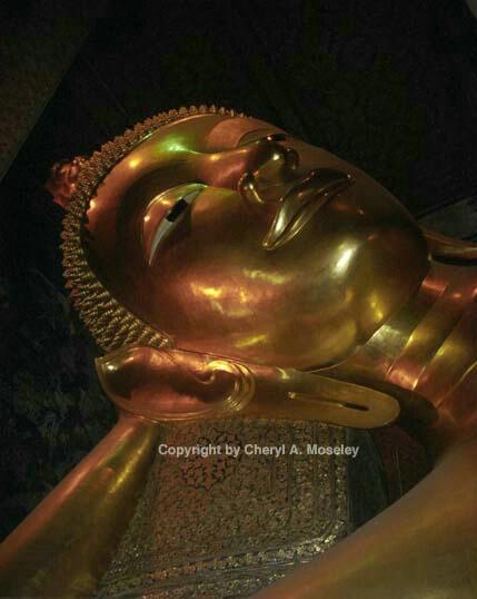 Reclining Buddha, Thailand, 20-1 - ID: 362443 © Cheryl  A. Moseley
