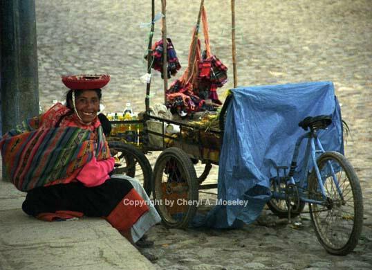 Quechua-speaking saleswoman 5-19 - ID: 362498 © Cheryl  A. Moseley