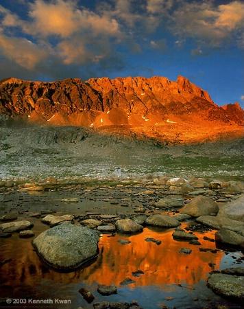 Alpenglow, Mt. Humphreys