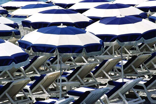Umbrellas in Nice