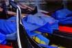 Gondola with blue...