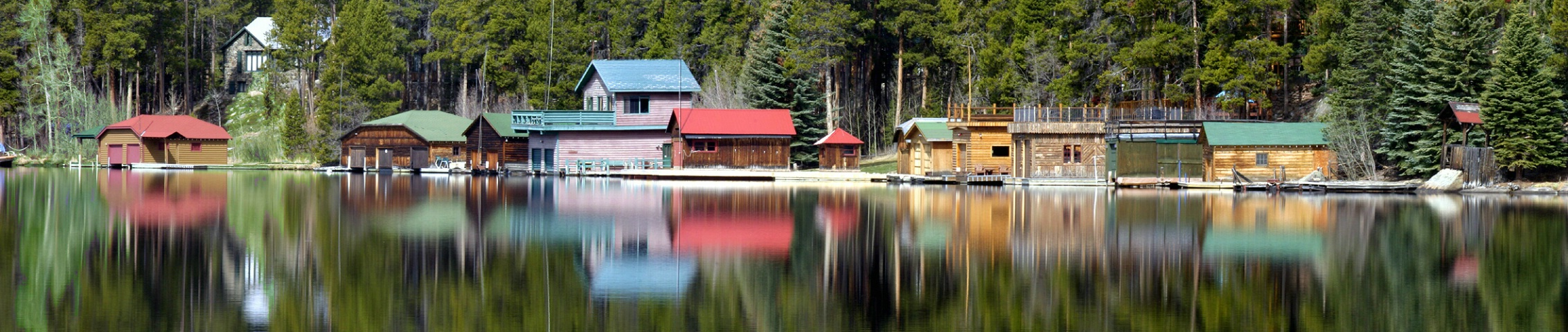 Boathouses on the North Shore