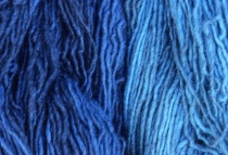 Blue Wool at the Farmers' Market