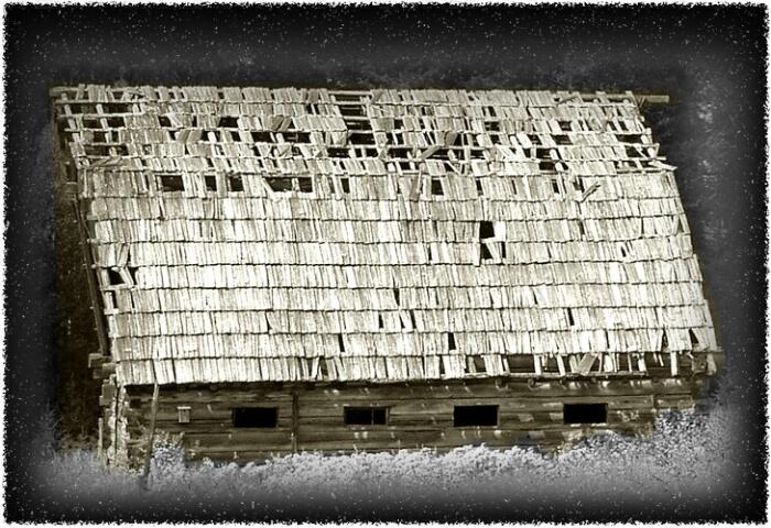 Little Barn On The Prairie