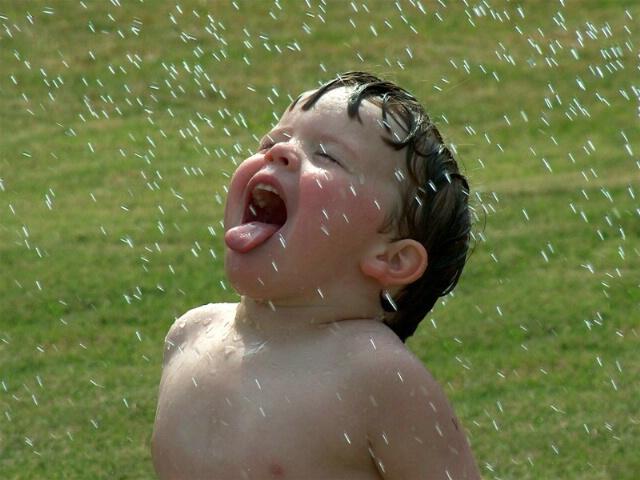 Rain Drops Fallin' on My Head (and Tongue)