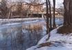 A winter evening ...