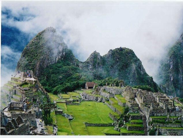 Condor in the mist , , , , ,Machu Picchu