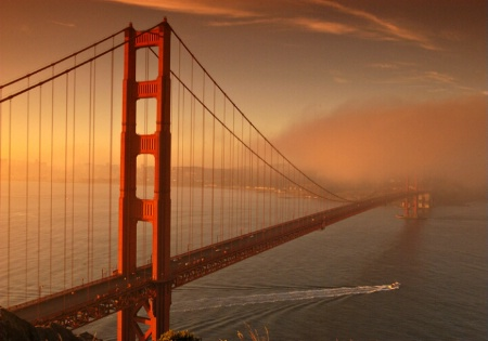 Surreal Golden Gate