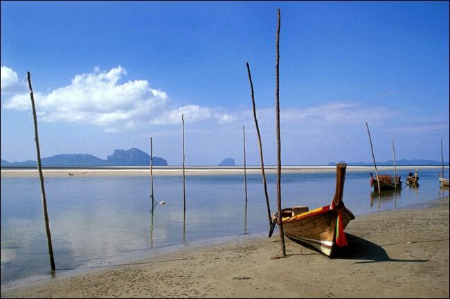 Boats in Trang