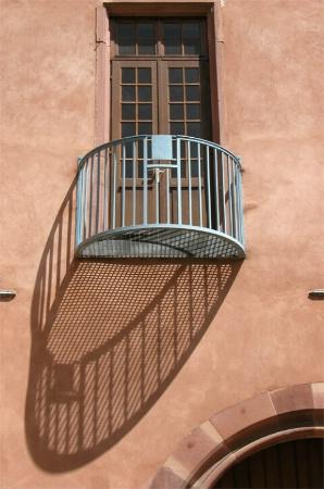 La shadow  du balcony
