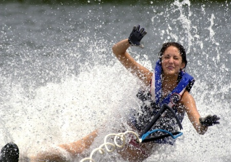 Waterski Wipeout