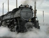 Engine 3985 before