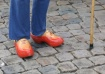 Clogs with jeans