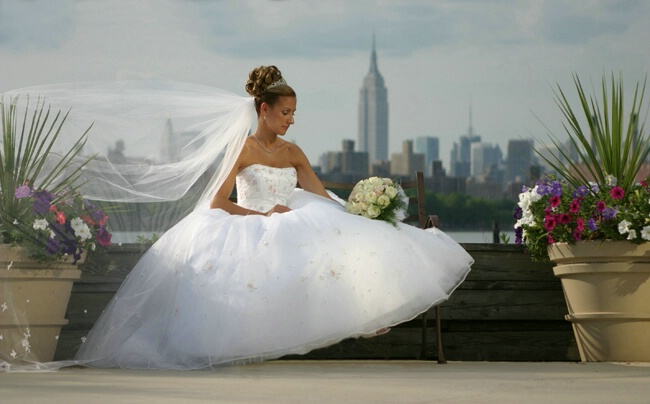 View Of A  Bride
