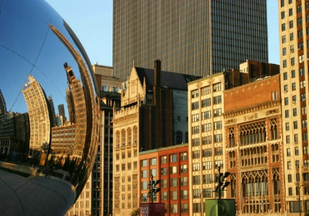 "Cloudgate, ""the Bean"""