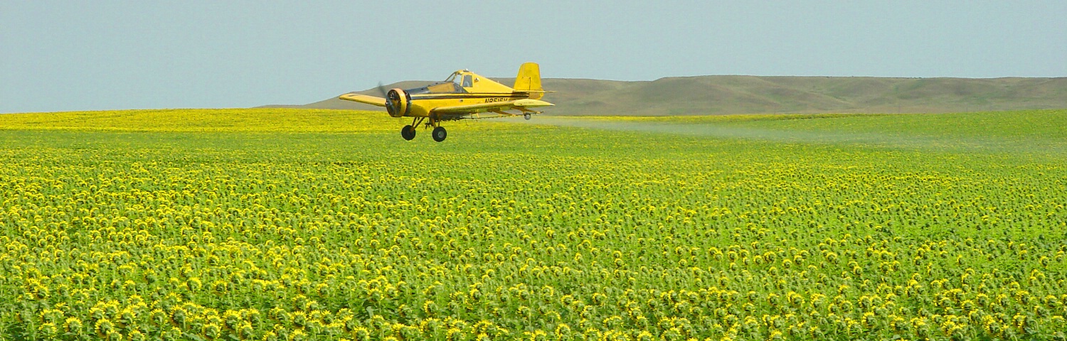 Crop Duster - Side View