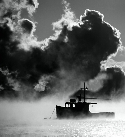 Little Bay Lobster Boat & Sea Smoke