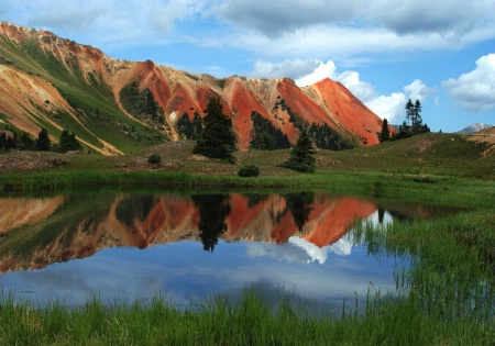 Red Mtn Colorado reflection