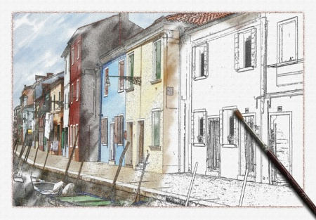 Burano watercolour