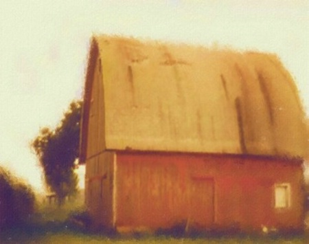 # 2 for Oct. - Red Barn