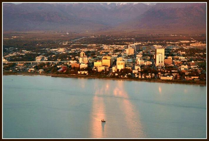 Anchorage Cityscape
