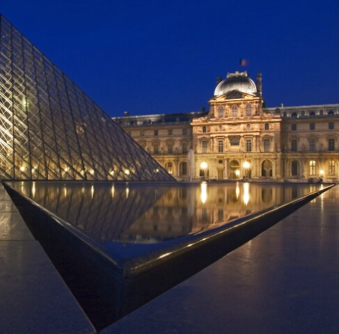 Louvre Geometry
