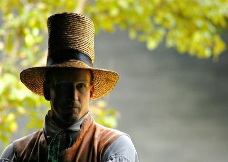 Straw Hat Silhouette