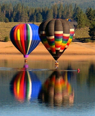 Hot Air Fishing