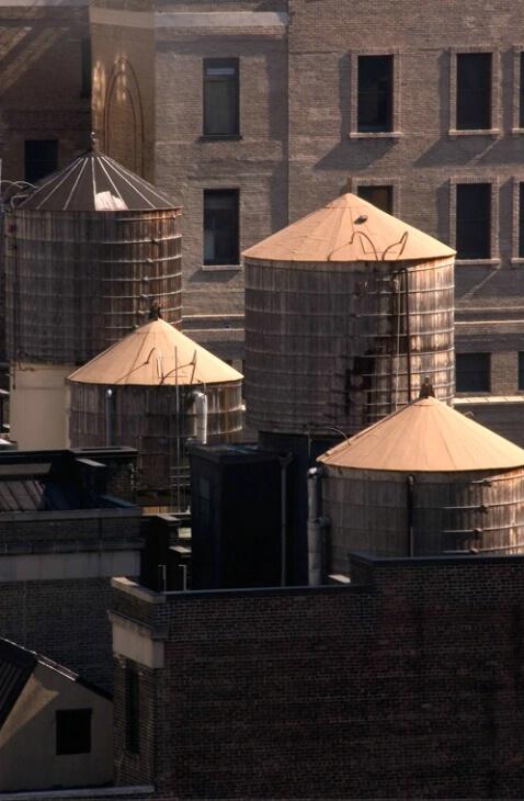 Rooftop Landscape - ID: 577183 © Virginia Ross